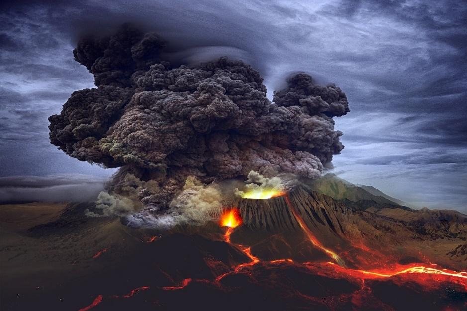 Bencana alam: Letusan gunung berapi