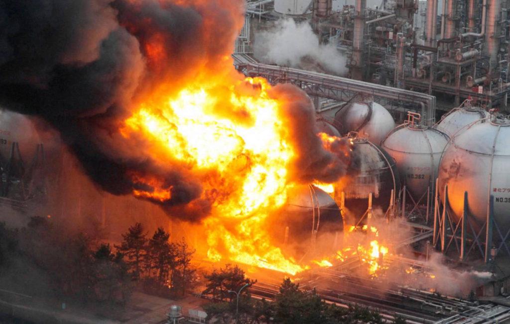 Bencana non-alam yang diakibatkan kecelakaan industri